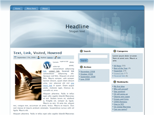 Blue Pages WP Theme