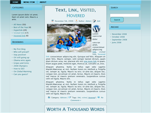 Blue Side WP Theme