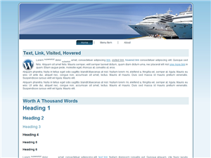 Cruises WP Theme Edition 2