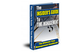 The Insider's GuideTo Time Management