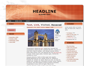 Daily Events WP Theme