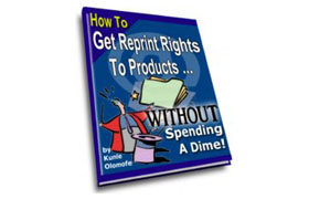 Get Reprint Rights To Products