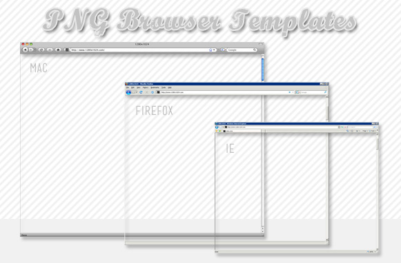 PNG Browser Templates