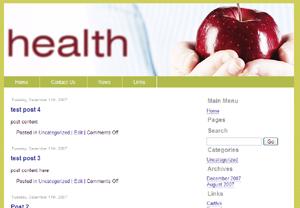 Health Joomla Template Edition 2