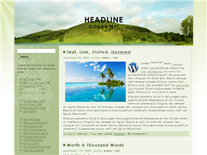 Hill Side WP Theme
