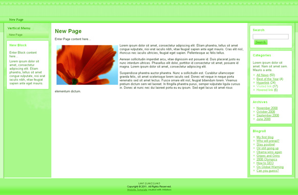 Lime HTML Template