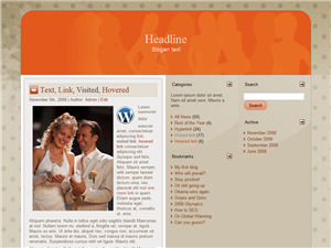 Love Age WP Theme