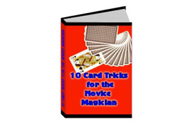 10 Card Tricks For The Novice Magican