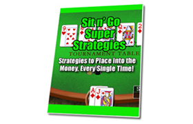 Sit N Go Super Strategies