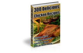 300 Delicious Chicken Recipes