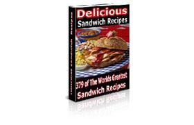 379 Sandwich Recipes Collection eBook