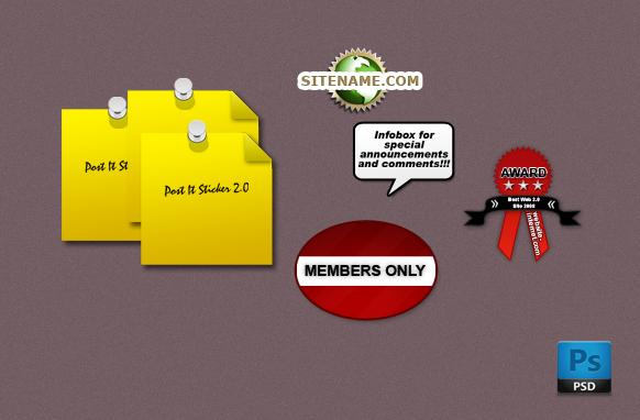 Random Business PSD & PNG Image Set