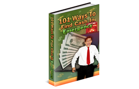 101 Ways To Find Cash In Emergency