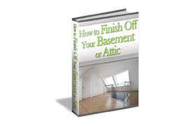 Finish Off Your Basement or Attic
