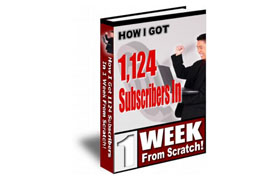 How I Got 1124 Subscribers In One Week