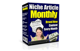 Niche Article Monthly