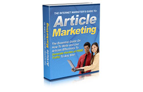 The Internet Marketers Guide To Article Marketing