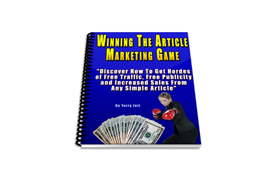 Winning The Article Marketing Game
