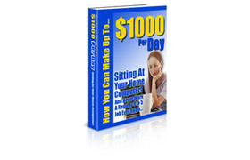 $1000 A Day Sitting At Home On Your Computer