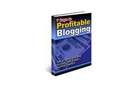 7 Days To Profitable Blogging