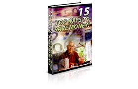 15 Top Ways To Save Money Vol 2
