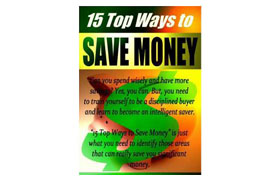 15 Top Ways To Save Money Vol 3
