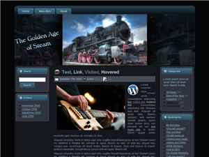 Steam Engine WP Theme Edition 1