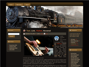 Steam Engine WP Theme Edition 2