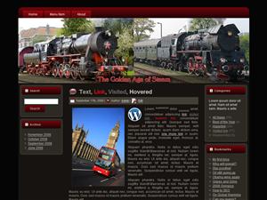 Steam Engine WP Theme Edition 3