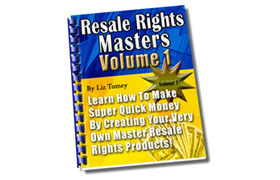 Resale Rights Masters Volume 1