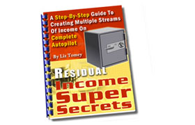 Residual Income Success Secrets