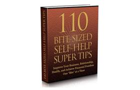 110 Bite Sized Self-Help Super Tips