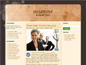 True Work WP Theme