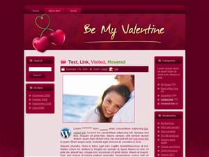 Valentine Cherry Love WP Theme