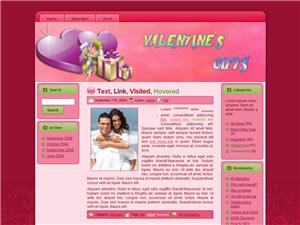 Valentine Gifts Blogger Theme