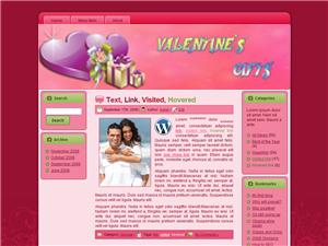 Valentine Gifts WP Theme