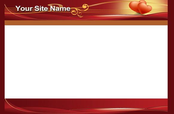 Valentine PSD HTML Minisite Template