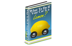 What To Do If Your Car Is A Lemon