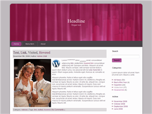 Wedding Day WP Theme
