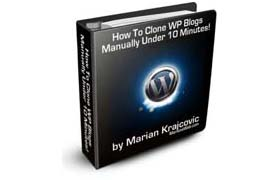 How To Clone WP Blogs Manually Under 10 Minutes