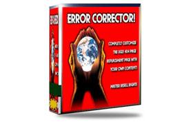 Website Error Corrector