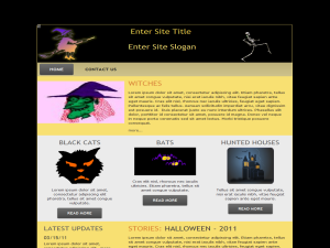 Wicked Witch WP Theme