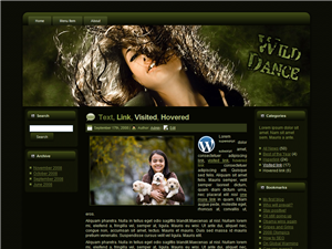 Wild Dance WP Theme