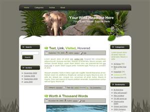 Wildlife WP Theme Edition 2