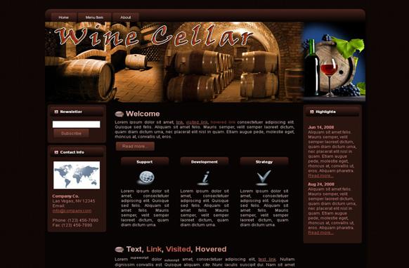 Wine Cellar WP Theme