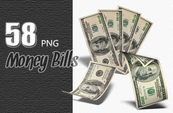 58 PNG Money Bills