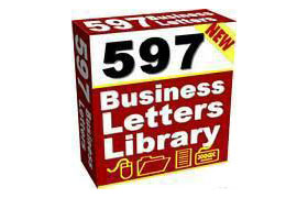 597 Ready To Use Sales Letters and Business Forms