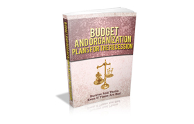 Budget And Organization Plans For The Recession