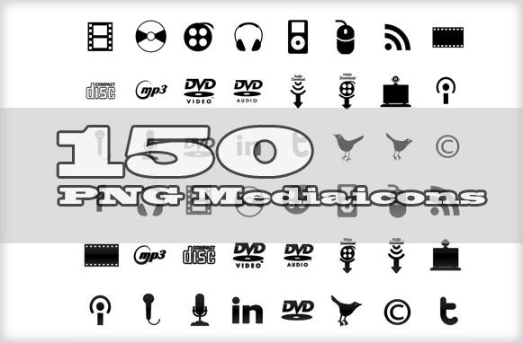 150 PNG Mediaicons
