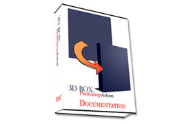 3D Photoshop Box Action